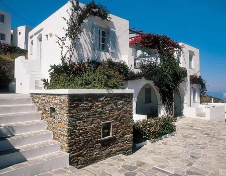 Hôtel Pétali Village 3* - arrivée Santorin