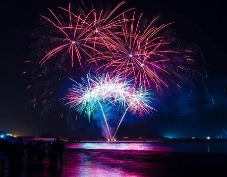 Nouvel An aux Emirats
