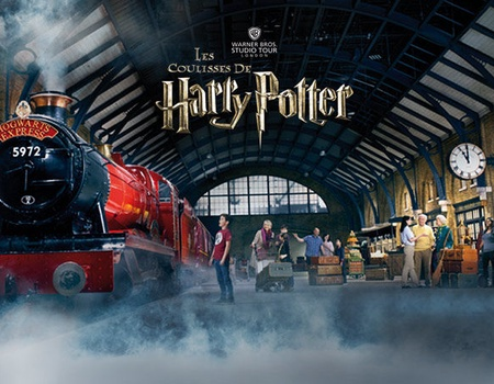 Hôtel Royal National 3* + visite des Studios Harry Potter (avec A/R en bus depuis Londres)