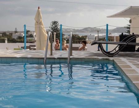 Hôtel Mare Naxia 3* - Arrivée Santorin