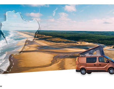 Road Trip en Van Aménagé : Les Landes