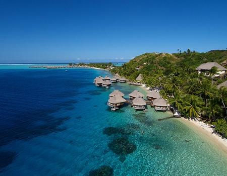 Combiné 3 îles Moorea, Bora Bora, Tahiti