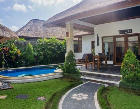 Combiné Ubud, Nusa Lembongan et Seminyak en villas avec piscine privée 4*