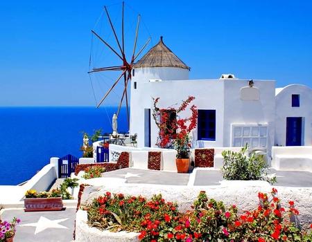 Périples dans les Cyclades - Mykonos, Paros et Santorin en 3* - Arrivée Athènes