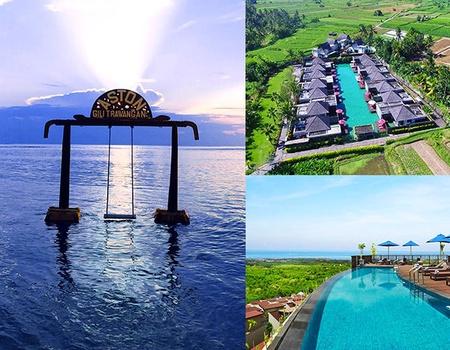 Combiné Ubud, île Gili Trawangan & Nusa Dua 4*