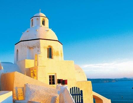 Combiné Iles Mykonos-Santorin via Athènes 2*, 3* ou 4*