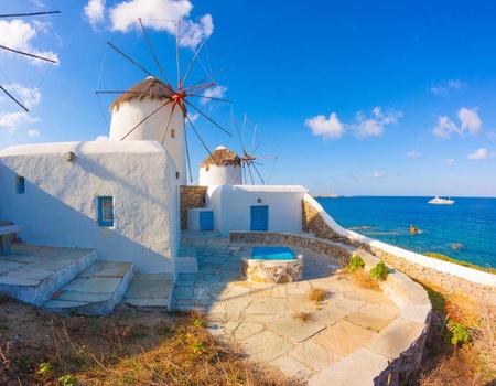 Périples dans les Cyclades - Mykonos et Paros en 4* - Arrivée Athènes