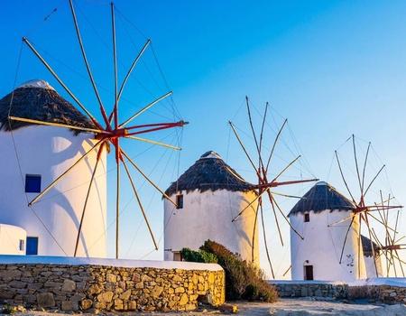 Combinés dans les Cyclades depuis Athènes - Santorin et Mykonos en hôtels 3*