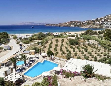 Hôtel Dionysos Sea Side Resort 4* - Arrivée Santorin