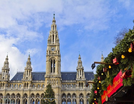 Réveillon à Vienne avec soirée sur le Danube - Hôtel Roomz 4*
