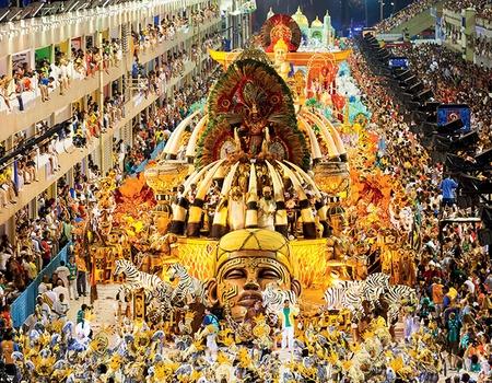 Rio de Janeiro et le plus beau Carnaval au Monde