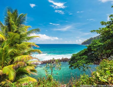 Combiné circuit et hôtel De La Réunion intense aux lagons de l'île Maurice 3*