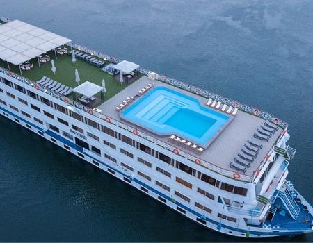 Circuit Coeur de l'Egypte sur le bateau Top Clubs Cruise M/S Da Vinci 5*