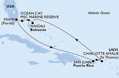 Croisière Sur les traces des pirates des Antilles