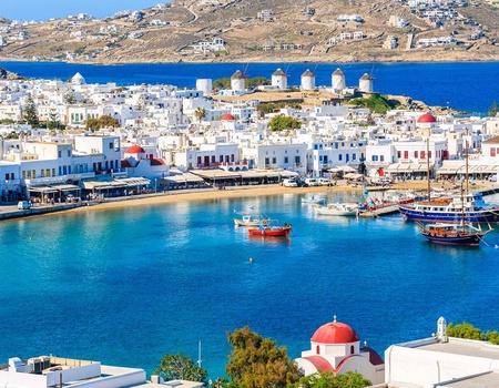 Périples dans les Cyclades - Santorin, Mykonos, Naxos et Paros 4* - Arrivée Santorin