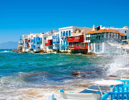 Périple dans les Cyclades depuis Athènes - Mykonos et Santorin en 3*