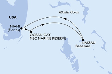 Croisière Escapade dans les Bahamas