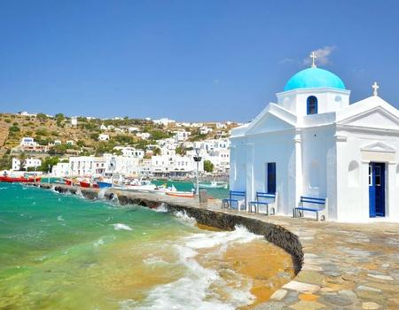 Périple dans les Cyclades depuis Santorin - Santorin et Mykonos en 4*