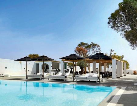 Kalisti Hôtel & Suites 4* - Arrivée Santorin