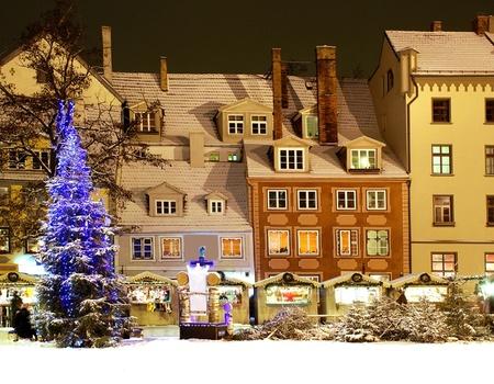 Marché de Noël à Riga Hôtel 4*