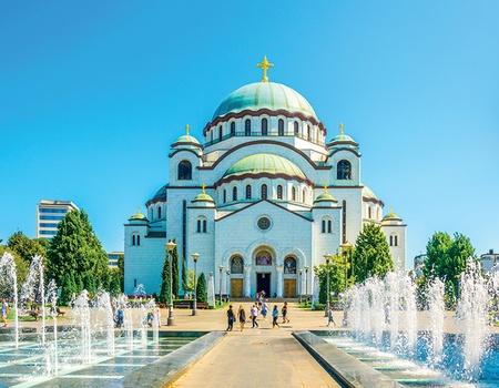 Croatie et mosaïque des Balkans