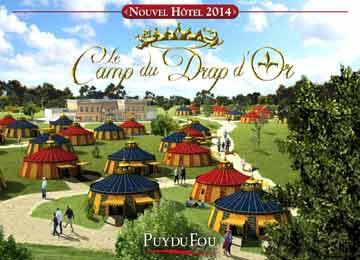 Hôtel Camp du Drap d'Or 3* - Puy du Fou