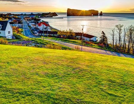 Circuit l'Est et la Peninsule Gaspésienne