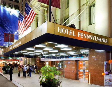 Hôtel Pennsylvania 2*