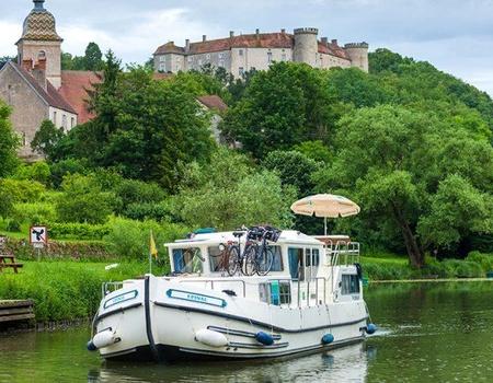 La Petite Saône en bateau sans permis : Cités de caractère