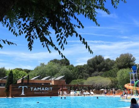 Camping Tamarit Beach