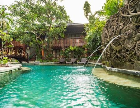 Combiné Adiwana Monkey Forest 4* & The Kryamaha Villas 4*