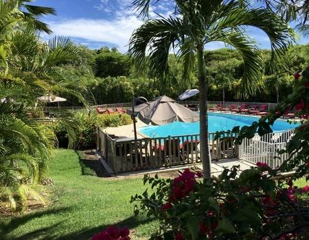 Combiné Guadeloupe avec Location de voiture: Résidence Le Vallon + Résidence Caraïbes Royal 4*