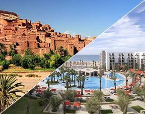 Circuit Grand Sud Marocain & Extension Kappa Club Royal Atlas Agadir 5*
