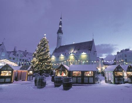 Marchés de Noël à Tallinn Hôtel 4*