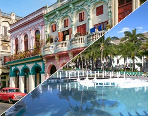 Combiné Découverte Cubaine Havane-Varadero au Club Coralia Melia Peninsula Varadero 5*