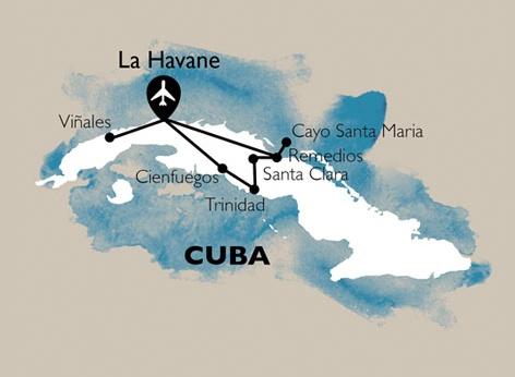 Circuit Cuba Dulce - Hiver 2020/2021 - 1