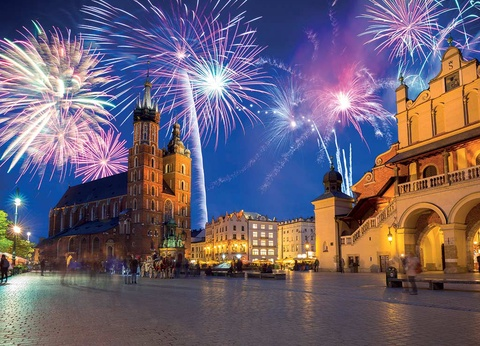 Réveillon à Cracovie avec soirée du Nouvel An - Hôtel Vienna House Andel's Cracow 4* - Visites incluses - 1