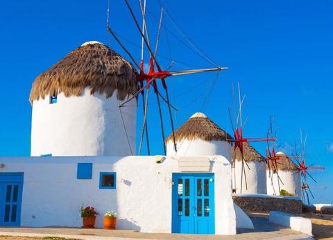Combinés dans les Cyclades depuis Santorin - Santorin, Naxos et Mykonos en 3* - 1