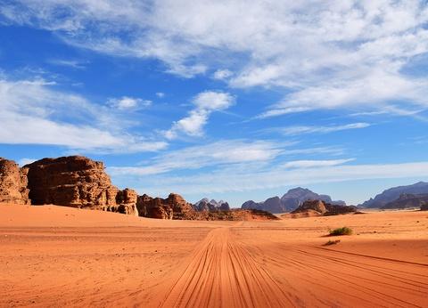Sur les traces de Lawrence d'Arabie - 1