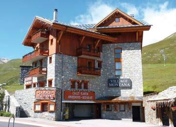 Hôtel village Montana 4* - 1