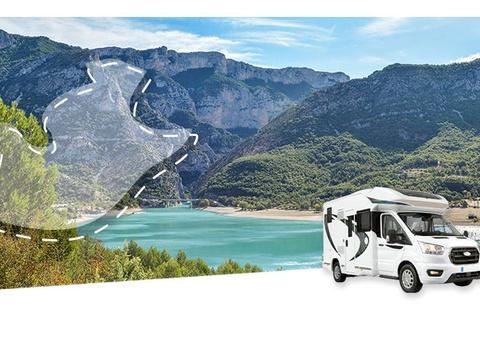 Road Trip en Camping-car Profilé : La Provence Verte et le Verdon - 1