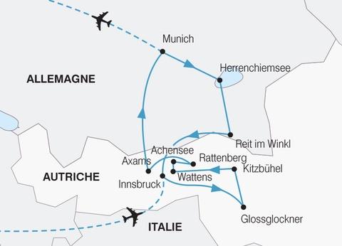 Trésors de la Bavière et du Tyrol - 1