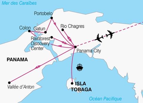 Circuit Charmes du Panama - 1
