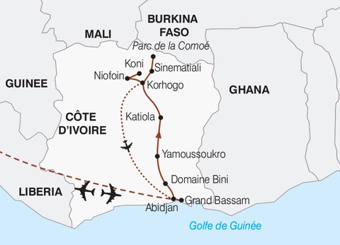 Circuit Fascinante Côte d'Ivoire - 1