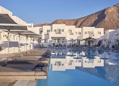 Hôtel Aqua Blue 5* - Arrivée Santorin - 1