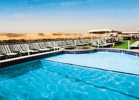 Croisière Hatchepsout - M/S Nile Crown III Confort - Hurghada - avec visites (- Tout Compris) - 5* - 1