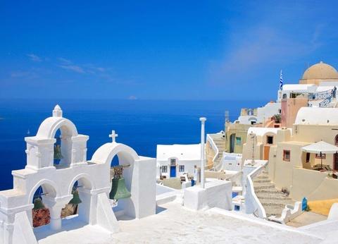 Périples 2 îles en 1 semaine - Paros et Santorin en 4* - Arrivée Athènes - 1