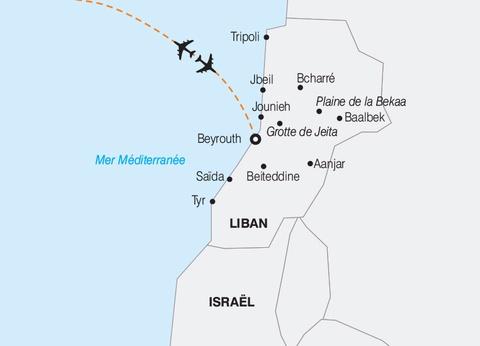 Le Liban, le Pays des Cèdres - 1