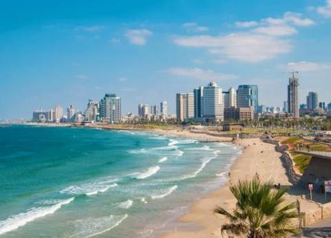 Circuit Mosaique israelienne et extension Tel Aviv - 1