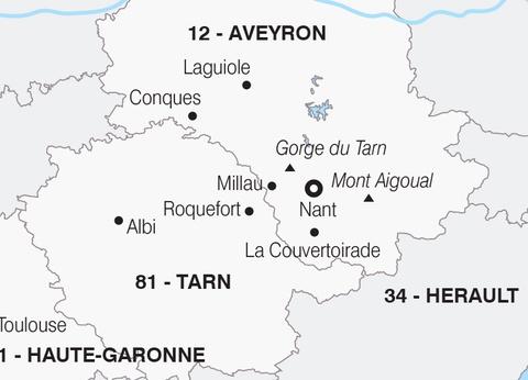 """L'Aveyron, les """"portes du Soleil"""" - 1"""